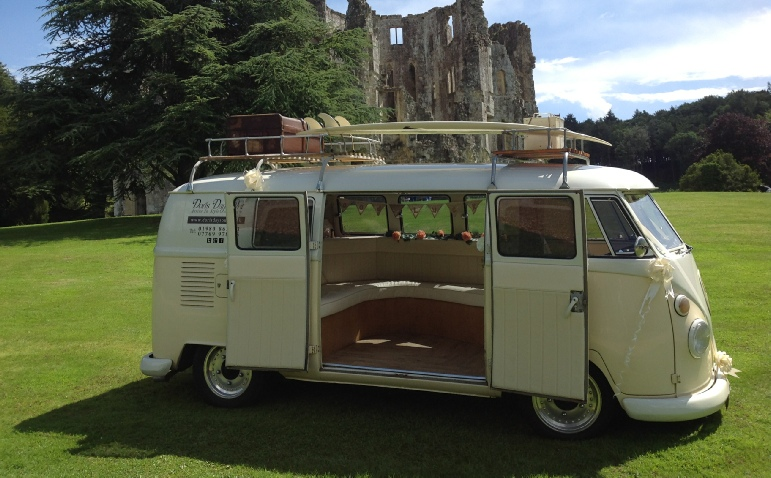 wedding car hire salisbury vw luxury camper van for that special occasion. Black Bedroom Furniture Sets. Home Design Ideas